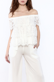 Do & Be Off The Shoulder Lace Top - Product Mini Image