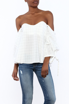 Do & Be White Off-Shoulder Top - Product List Image