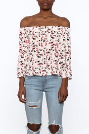 Do & Be Geo Printed Top - Side cropped