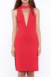 Do & Be Open Front Dress - Front full body