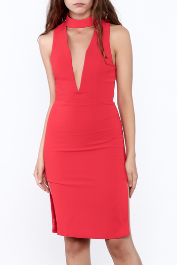 Do & Be Open Front Dress - Main Image