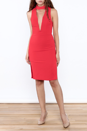 Do & Be Open Front Dress - Side cropped
