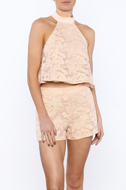 Do & Be Peaches And Cream Top - Product Mini Image
