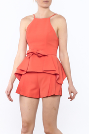 Do & Be Sleeveless Peplum Top - Product Mini Image