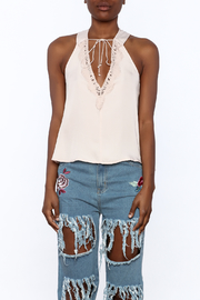 Do & Be Blush Racer Back Top - Side cropped