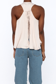 Do & Be Blush Racer Back Top - Back cropped