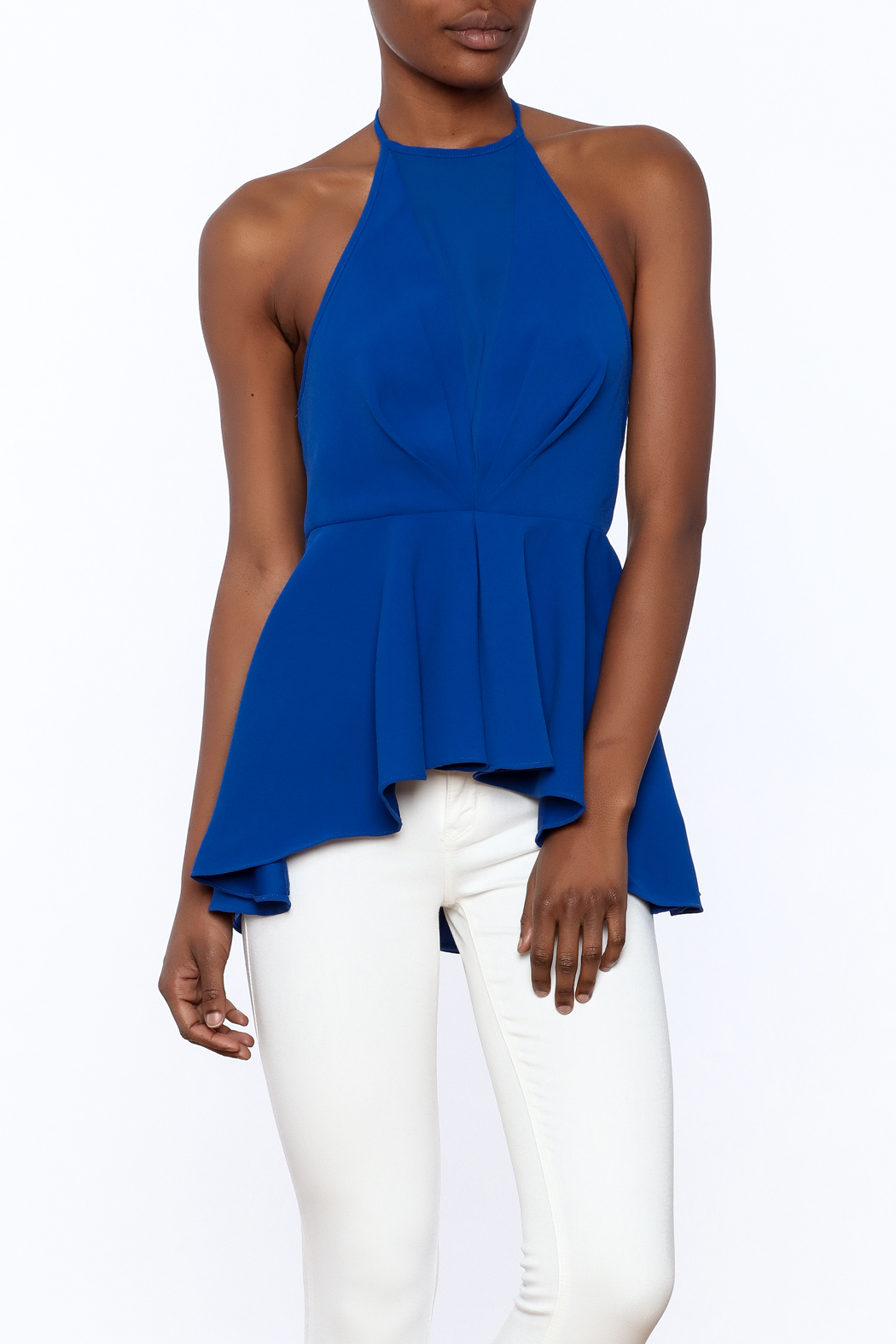 d0a646ac5e0 Do   Be Royal Blue Halter Top from Williamsburg by Fanaberie ...