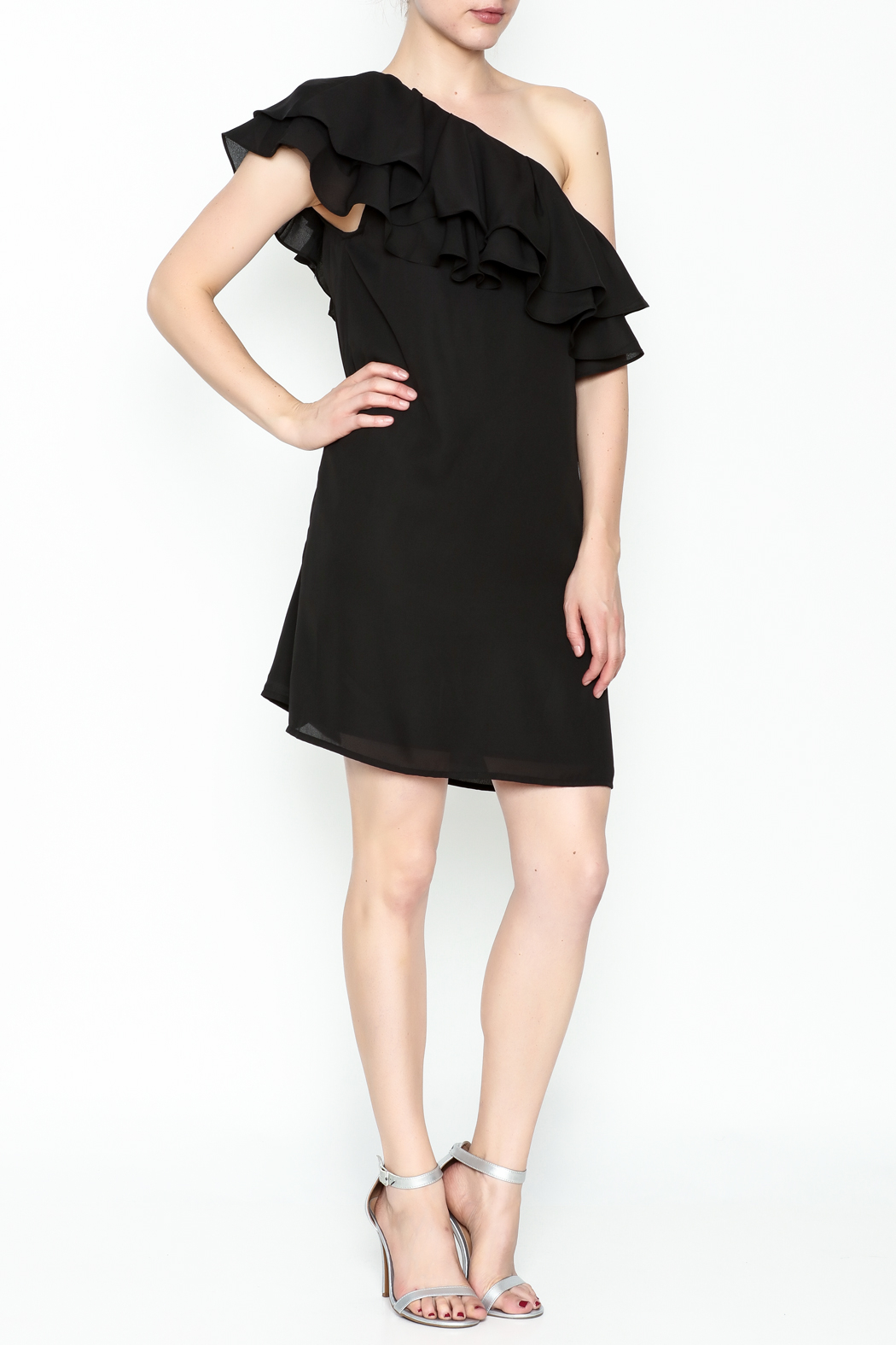 Do & Be Ruffle Me Dress - Side Cropped Image
