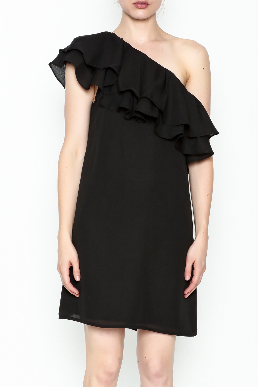 Do & Be Ruffle Me Dress - Front Full Image