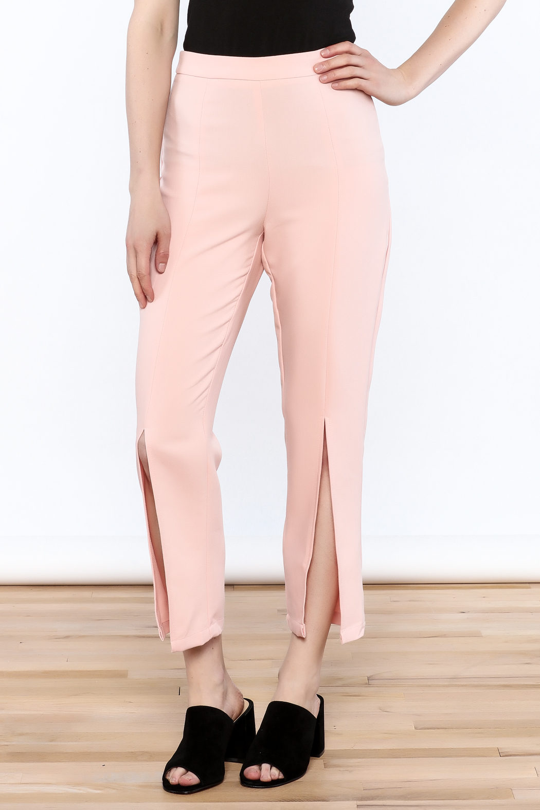 Do & Be Split Front Trousers from Louisiana by Bella Bella — Shoptiques
