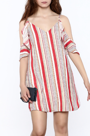 Do & Be Red Stripe Dress - Product Mini Image