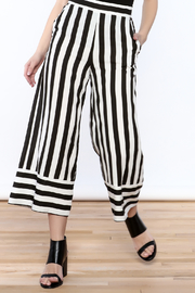 Do & Be Stripe Wide Leg Pant - Product Mini Image