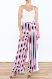 Do & Be Stripe Wide Pant Set - Side cropped