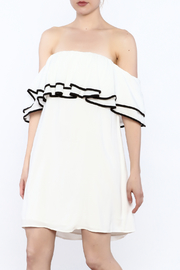 Do & Be White Shift Dress - Product Mini Image