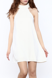 Do & Be White Sleeveless Swing Dress - Product Mini Image