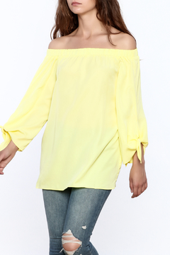 Shoptiques Product: Soft Yellow Long Top