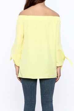 Do & Be Soft Yellow Long Top - Alternate List Image