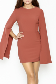 Do & Be Bell Sleeve Dress - Front cropped