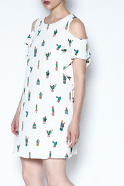 Do-Be Cold Shoulder Dress - Product Mini Image