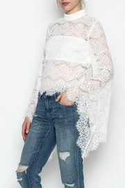 Do-Be Lace Belle Sleeve Top - Product Mini Image