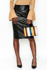 Do-Be Leather Zip Skirt - Product Mini Image