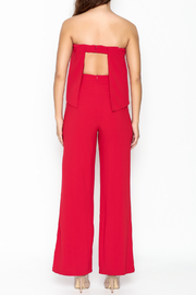 Do-Be Ruffle Strapless Jumpsuit - Back cropped