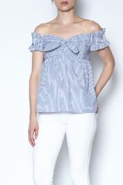 Do-Be Off Shoulder Ruffle Top - Product Mini Image