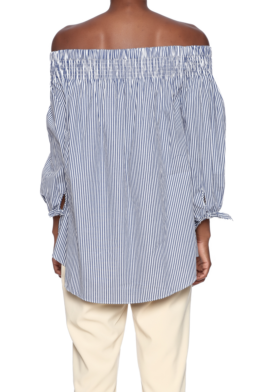 baf205b7ff8a Do   Be Striped Off Shoulder Top from New Orleans by Marigny House ...