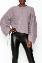 Do-Be Tie Cuff Sweashirt - Front cropped