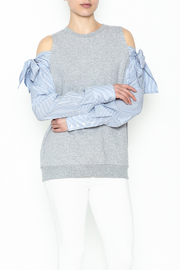 Do-Be Tie Shoulder Sweater - Product Mini Image