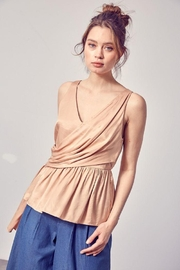 Do+Be Collection  Asymmetric Draped Top - Other