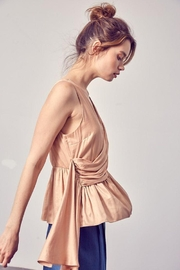 Do+Be Collection  Asymmetric Draped Top - Front full body