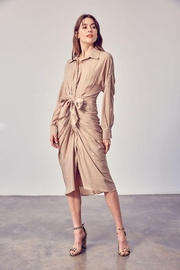 Do+Be Collection  Collar Tie Front Dress - Product Mini Image