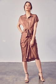 Do+Be Collection  Front Tie Button Up Dress - Product Mini Image