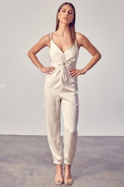 Do+Be Collection  Front Twist Jumpsuit - Other