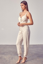 Do+Be Collection  Front Twist Jumpsuit - Side cropped