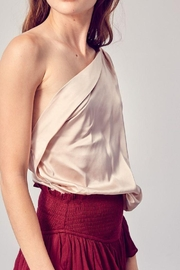 Do+Be Collection  One Shoulder Drape Top - Other