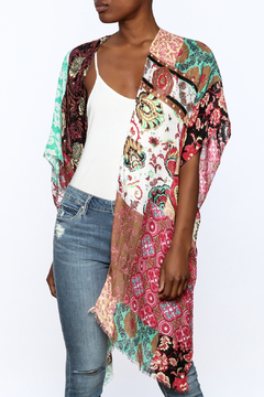 Do Everything in Love Colorful Kimono - Product List Image