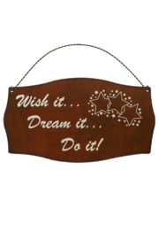 Rustic Ironwerks Do It! Metal Sign - Product Mini Image