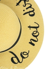 Olive & Pique Do Not Disturb Hat - Front full body