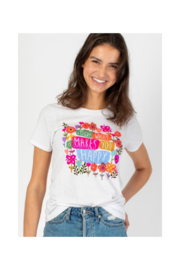 Natural Life Do What Makes You Happy Tee - Product Mini Image