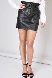 Do & Be Belted Leather Skirt - Product Mini Image
