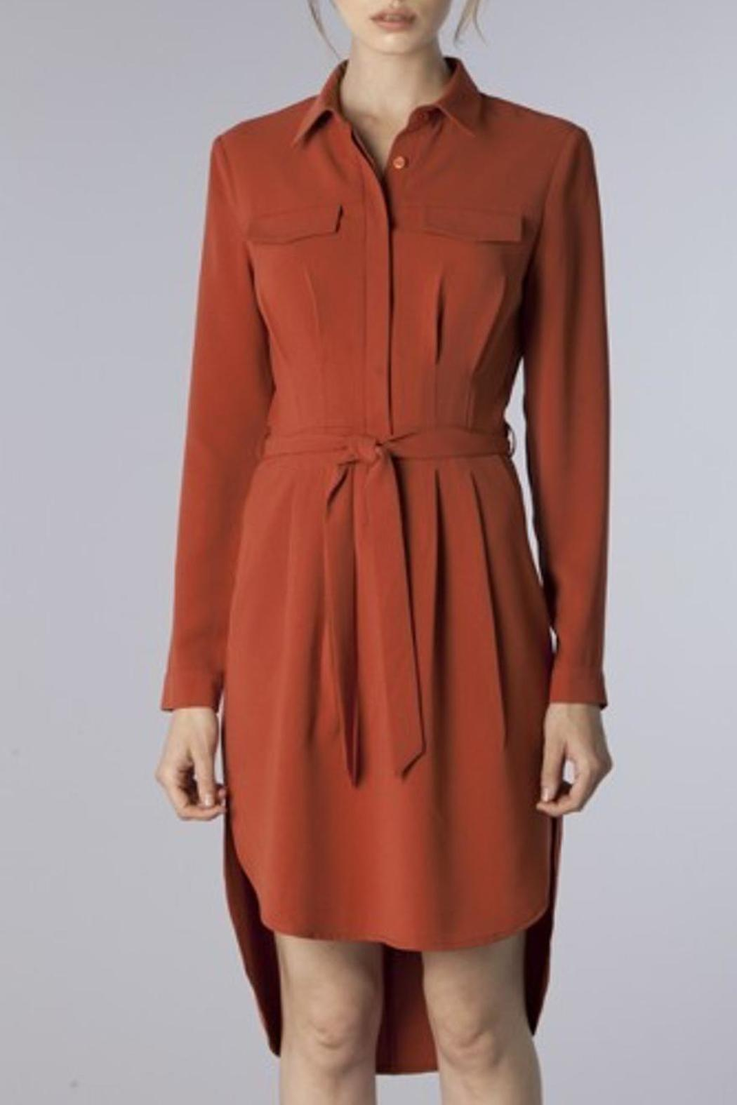 do be belted shirt dress from florida by dressing room