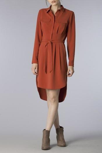 Do be belted shirt dress from florida by dressing room for Spa uniform norge