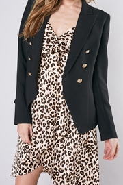 Do & Be Black Blazer - Front cropped
