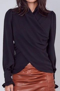 Do & Be Black Dressy Top - Product List Image