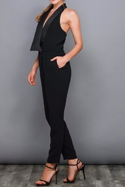 Do & Be Black Tuxedo Jumpsuit - Side cropped