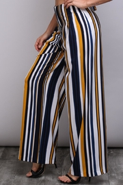 Do & Be Bleted Stripe Pants - Product Mini Image