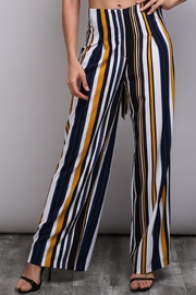 Do & Be Bleted Stripe Pants - Side cropped