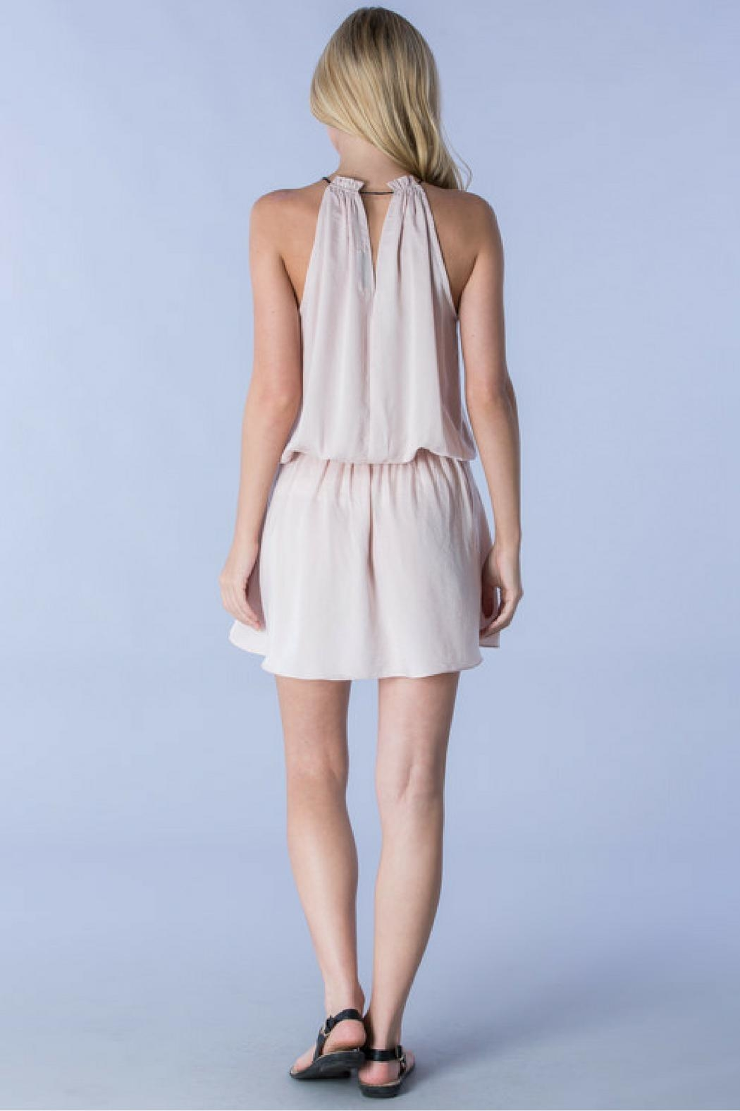 Do & Be Blush Tied Dress - Side Cropped Image